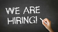 Full and Part Time Positions Available