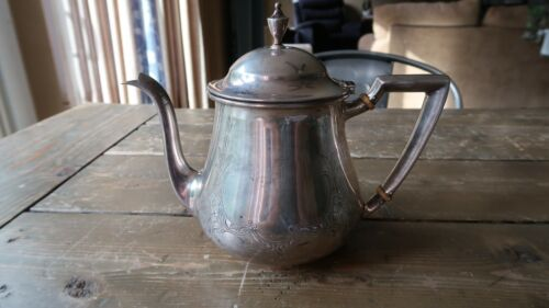 """Antique Wallace Sterling Silver 2 Pts Teapot 8.75"""" x 6 7/8"""" 385.98g"""