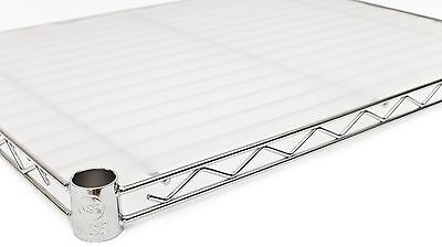 """18"""" x 48"""" Opaque Wire Shelf Liners - 4 Pack"""