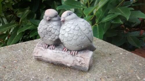 Love+Birds++-+Garden+Ornament++-+Hand+Cast