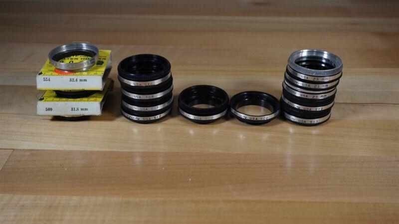 Ednalite Filter Holders - Lot of 13