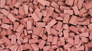 1/35 Scale Bricks Dark Red (approx 500)