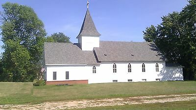 Church -  Country setting. Great condition on scenic river. Canoe, fishing on Rummage
