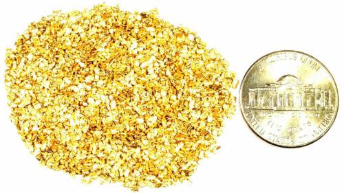 1.000 GRAMS ALASKAN YUKON BC NATURAL PURE GOLD NUGGETS #20 MESH FREE SHIPPING