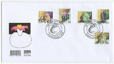 MALTA  2002  Cacti & Succulents   Unaddressed First Day Cover  Ref:3616
