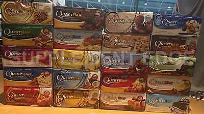Quest Bars Box 12 Bars Quest Nutrition 18 Flavors   Variety Box Always Fresh