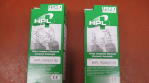 Ushio HPL-750WX/115X  Halogen Stage Studio Lamps (bulbs)