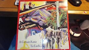 A Certain Ratio - To Each ... LP   UK 1ST PRESS FACTORY GATEFOLD FACT 35  ACR