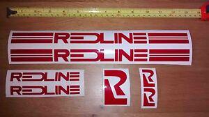 Redline Sticker Set - Old School BMX Decals