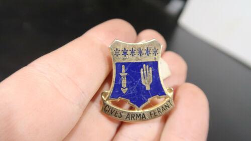 US Army DI DUI Crest 109th Infantry Regiment