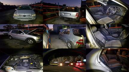 MERCEDES-BENZ ML SERIES W163 DISMANTLING PURPOSES ONLY (97-04) Girraween Parramatta Area Preview