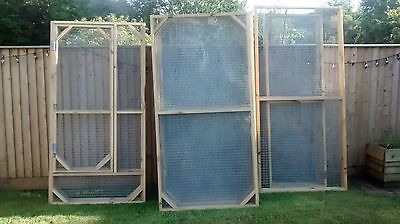 Bird Aviary Panels 6X3 Feet