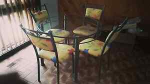Dining table and 4 chairs PICK UP TODAY Moorabbin Kingston Area Preview