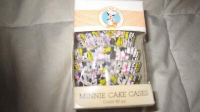 1960s vtg Disneyland Minnie Mouse cupcake holders Chef Mickey original Disney - Minnie Mouse Cupcake Holders