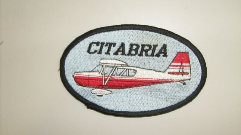 Citabria Aircraft Patches Made in the USA by All Star Warbirds Custom Embroidery