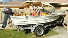 Quintrex Aluminium Boat, Yamaha 25hp Electric Start, Gal Trailer Forster Great Lakes Area Preview