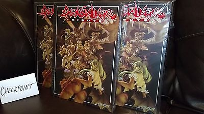 Darkstalkers Tribute Limited Hardcover Art Book (Capcom - Udon) NEW SEALED MINT!