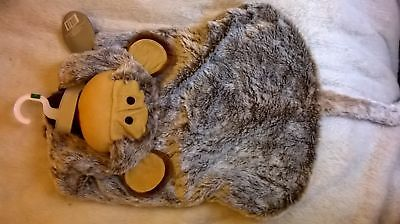 NEW/TAGS - DOG PET PUPPY - MONKEY OUTFIT COSTUME HOODIE - LARGE 45CM - Dog Monkey Costume
