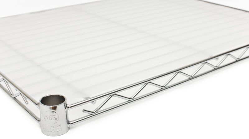 """18"""" x 48"""" Opaque Wire Shelf Liners - 6 Pack"""