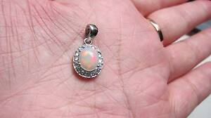 Sweet Ethiopian Opal 925 Sterling silver pendant Padbury Joondalup Area Preview