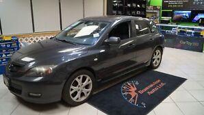2008 Mazda Mazda3 Sport MANUAL! LOADED! HATCH! ROOF! ALLOYS!