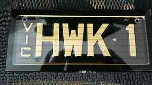 Hawthorn Hawks AFL football #1FAN registered number plates Carnegie Glen Eira Area Preview