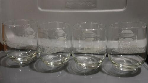 lot of 8 Missouri Pacific glass tumbler cups