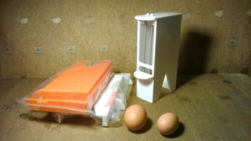 (3) Sparrow Stop Chicken Feeders ( ABS Plastic)