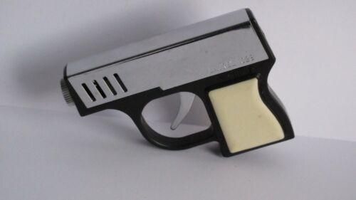 "VINTAGE 1960s LAUREL 1029 PISTOL GUN TORCH GAS LIGHTER MADE IN JAPAN 2"" x 3"""