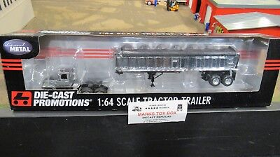 Used, DCP#33835 FORD L9000 SEMI DAY CAB TRUCK & CHROME EAST END DUMP TRAILER 1:64/CL for sale  Shipping to Canada