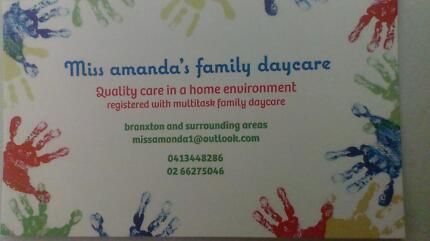miss amanda's family daycare Branxton Singleton Area Preview