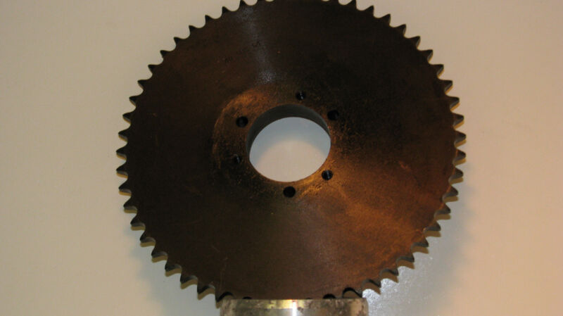 "40SDS54 Martin Sprocket, QD Bushed, Type B Hub, 40 Chain, 54 Teeth, 8.884"" OD,"