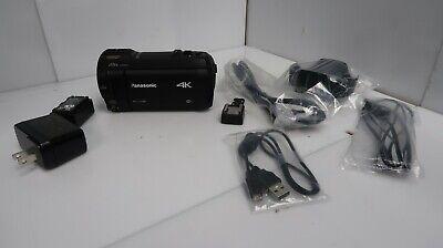 Panasonic 4K Ultra HD Video Camera Camcorder HC-VX981K 20X Optical Zoom