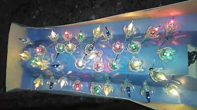 Vintage The Original Christmas Italian  Lights NRFB Made in Italy Tested & Works ()