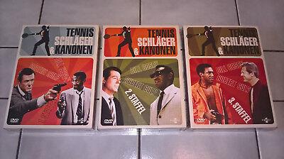 Tennisschläger und Kanonen ✔️ Staffel 1 2 3 auf 21 DVD ✔️ NEU & OVP - Rarität!