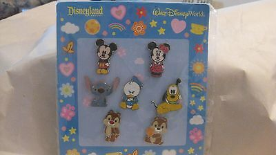 Disney 7 Pin Baby Figuren Set 2010 Micky - Baby Disney Figuren