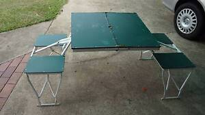 Coleman steel fold up Camping table Bracken Ridge Brisbane North East Preview