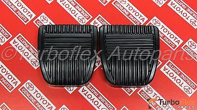 Toyota Clutch Brake Pedal Pad Set of 2 Genuine OEM     31321-14020 Brake Clutch Pedal Pad