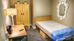 Downtown Student Apartment inclu. TV! FREE WIFI & Shuttle Bus