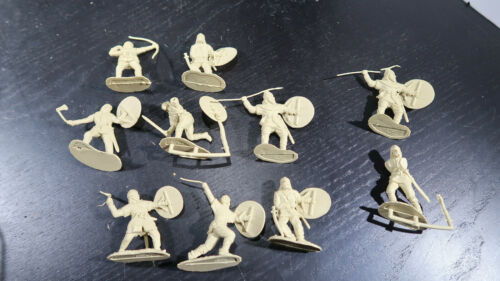 Conte Collectibles 10 Viking Warriors Fighting 54mm