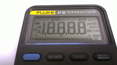 Fluke 87 Iii Display Repair Kit And Step By Step Photo Instructions