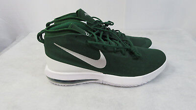 low priced 67752 bd879 Nike Men s 942520-303 Air Max Dominate Basketball Shoes green White Size 17