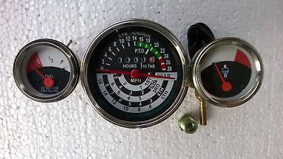 Jd Tachometer Temp Fuel Gauge Fits John Deere 1010 2010 Tractor