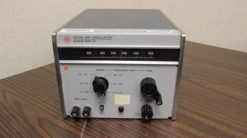Boonton Radio Co. 3200A VHF Oscillator