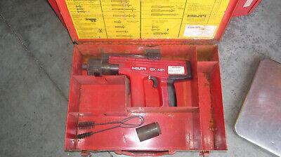 Hilti Dx 451 516 Powder Actuated Fastening Nail Gun Tool Kit Nice 892