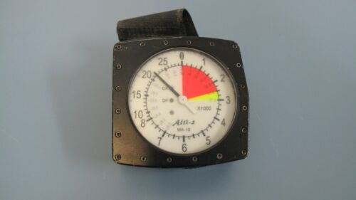 ALTI-2 Altimaster MA-10UD Compressed Scale Tough Analog Skydiving Altimeter