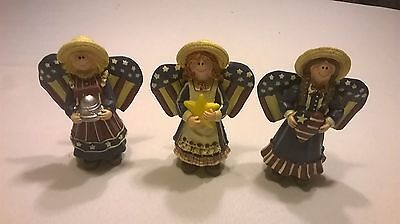 "4th of July Patriotic Angels 5 1/2"" Tall"