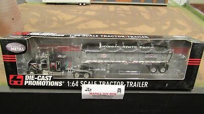 DCP#31592 ILLINOIS STATE FAIR PETE 379 SEMI TRUCK &EAST END DUMP TRAILER 1:64/FC for sale  Shipping to Canada