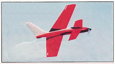 Eléctrico Hummer Aerobático Deporte Avión Planes, Plantillas E Instrucciones
