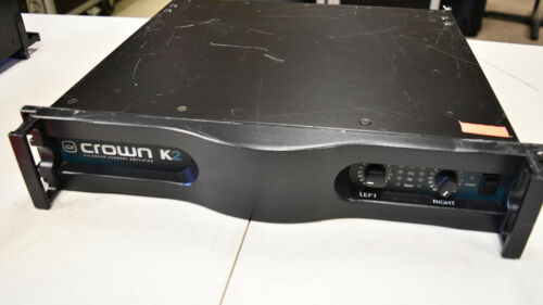 Crown K2 Power Amplifier; USED; In Good Condition (#2)